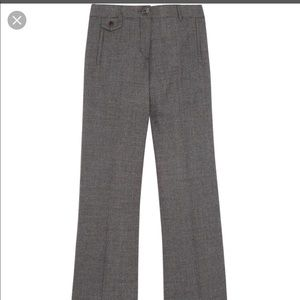 PRISTINE Tory Burch flared woolblend Pants